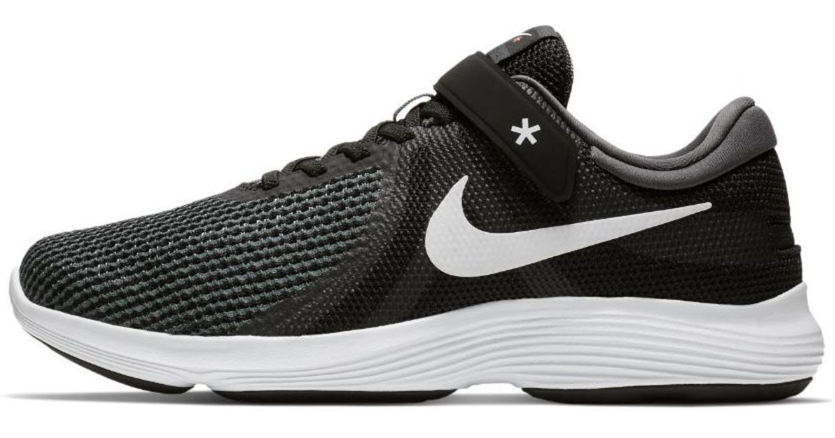 d30d216be1c Lyst - Nike Revolution 4 Flyease (wide) Men s Running Shoe in Black for Men