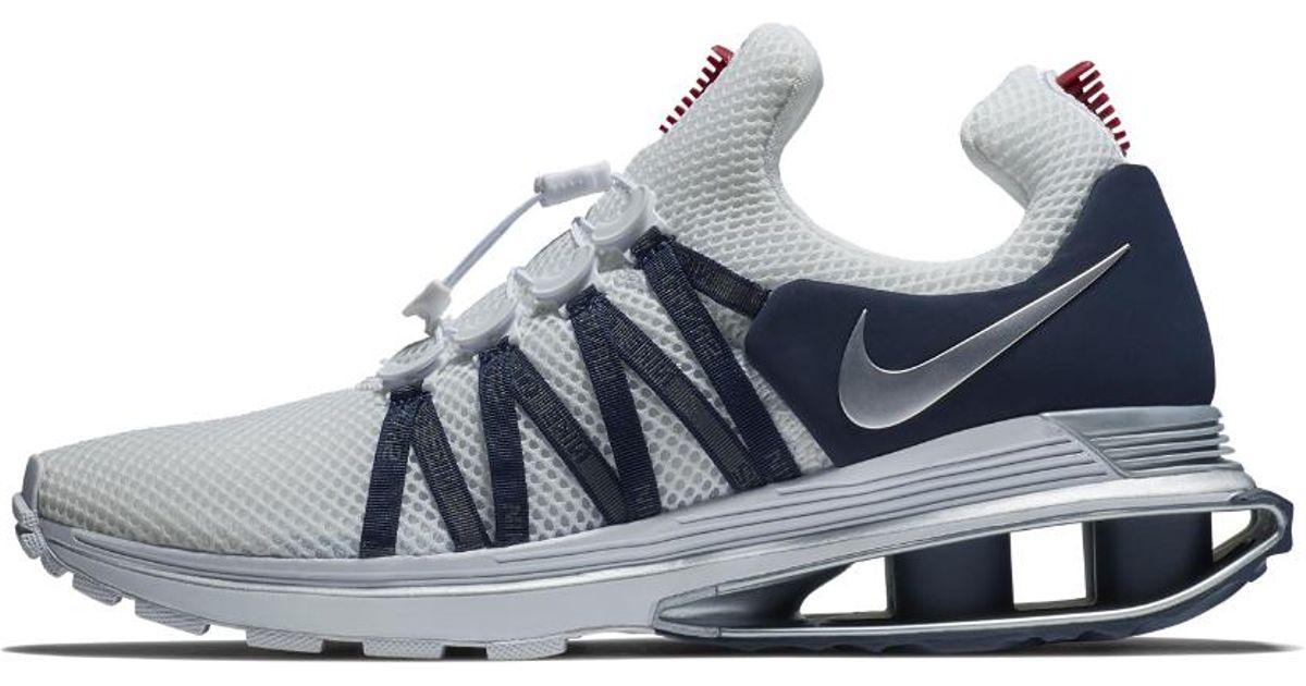 b0ecffa4cf463b Lyst - Nike Shox Gravity Men s Shoe in White for Men