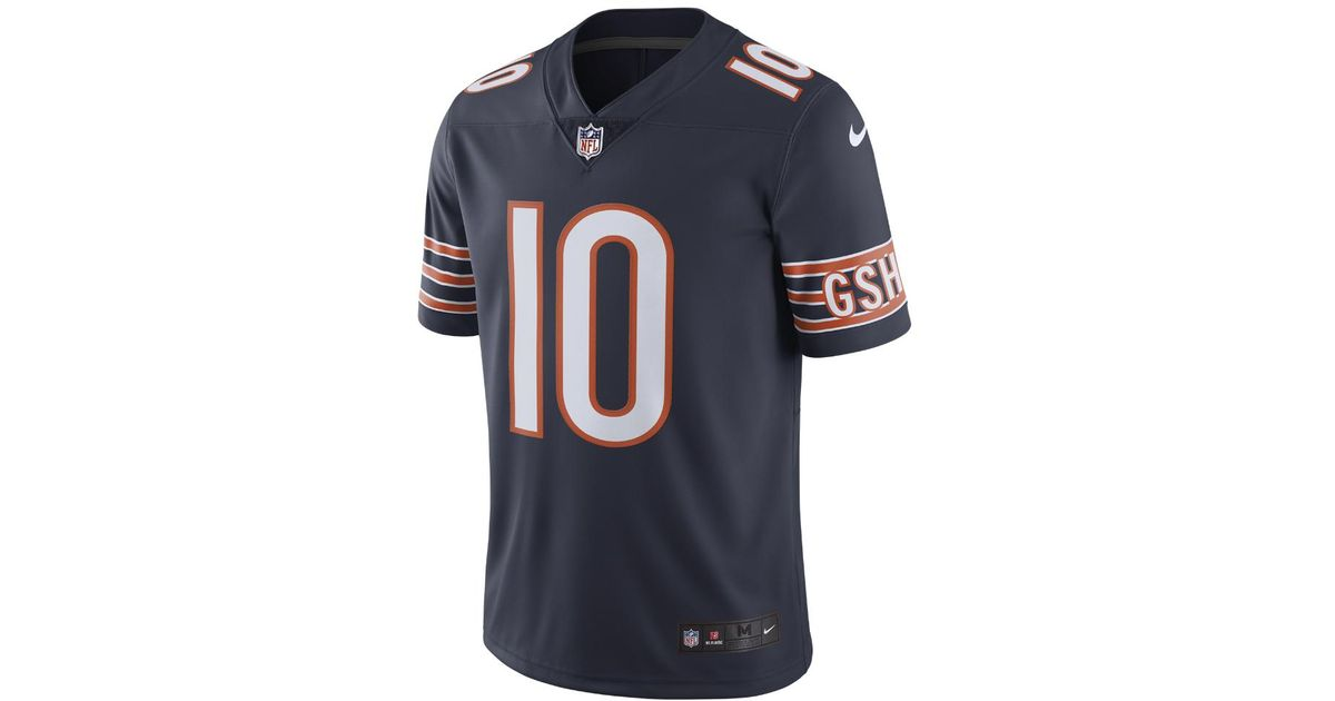half off 986c8 34293 Nike - Blue Nfl Chicago Bears Color Rush Limited (mitch Trubisky) Men's  Football Jersey for Men - Lyst