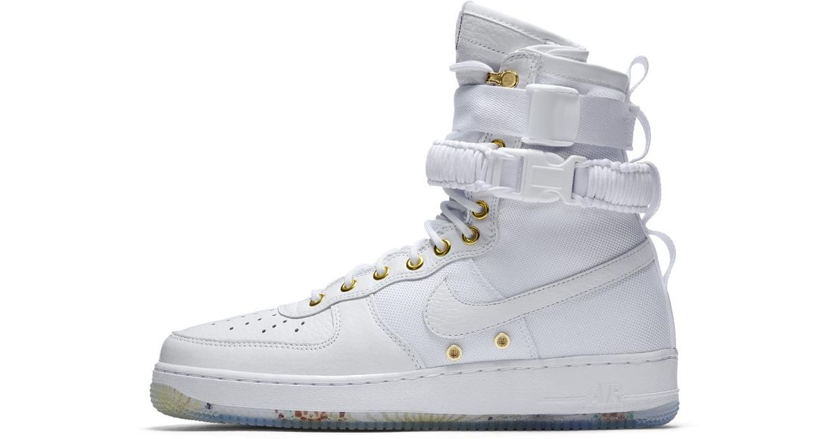 426efb6398fd ... lyst nike sf air force 1 lny qs mens shoe in white for men