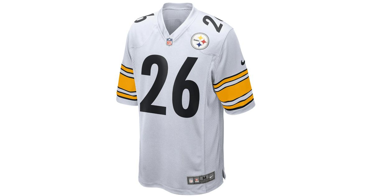 af4a2edb743 Nike Nfl Pittsburgh Steelers (le'veon Bell) Men's Football Away Game Jersey  in White for Men - Lyst