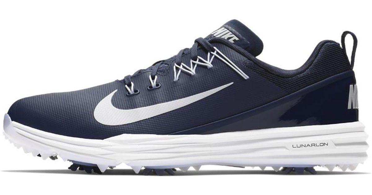 size 40 f82dc 8023e Lyst - Nike Lunar Command 2 Mens Golf Shoe in Blue for Men