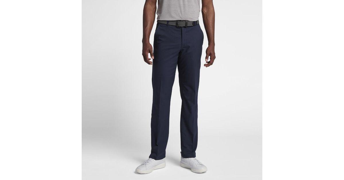 2cc7d20f0f85 Lyst - Nike Flex Essential Men s Golf Pants in Blue for Men