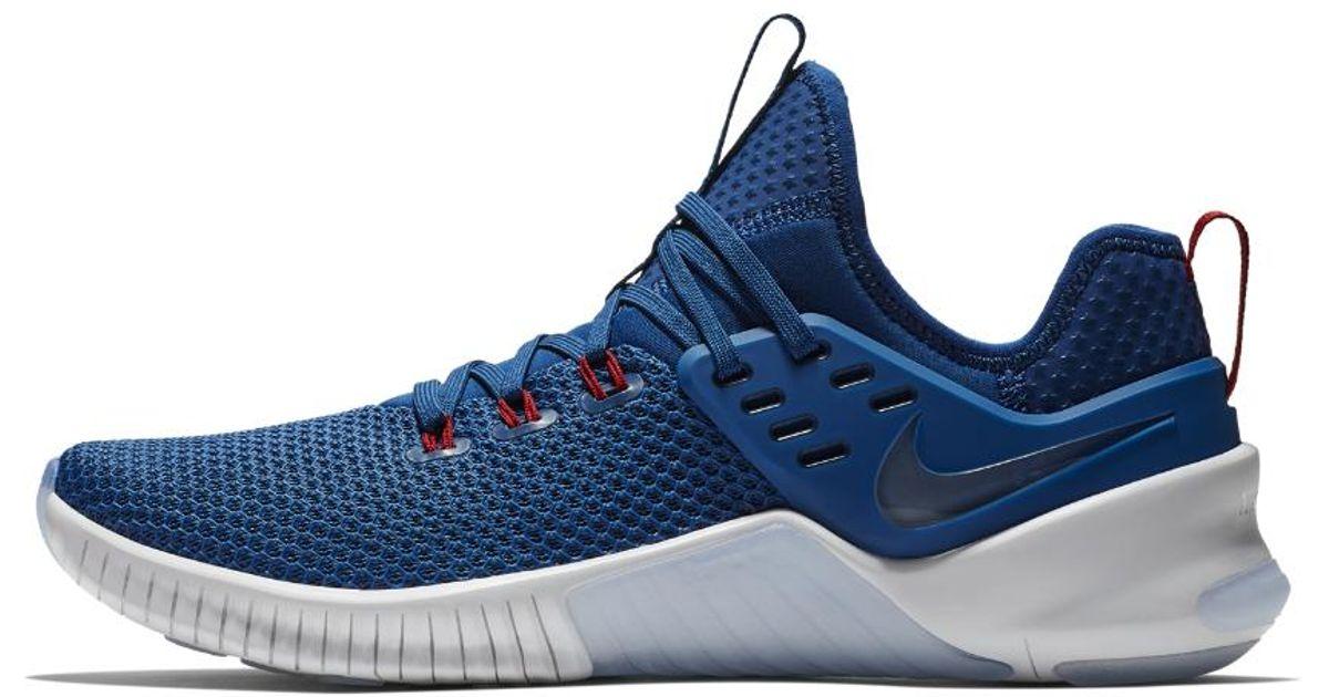 new styles 02684 f7590 Nike Free X Metcon Americana Men's Training Shoe in Blue for Men - Lyst