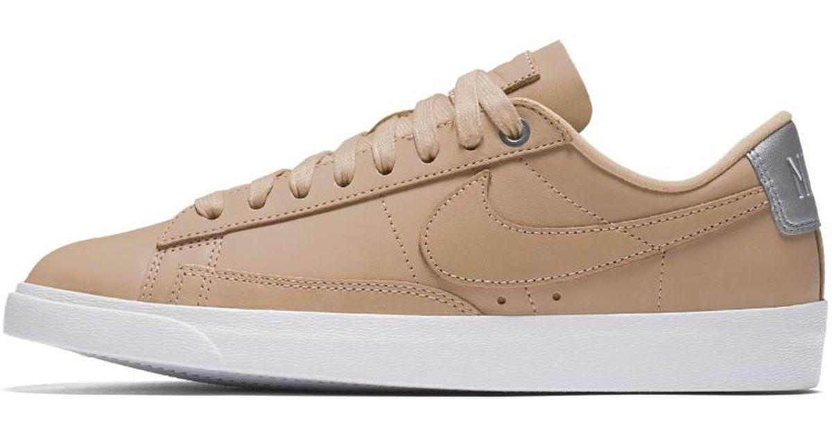 size 40 d57be 6c03e Lyst - Nike Blazer Premium Low Qs Womens Shoe