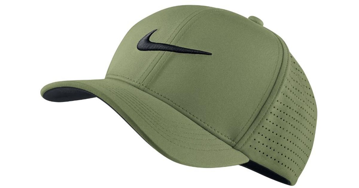 9edb3054 Lyst - Nike Classic 99 Fitted Golf Hat in Green for Men