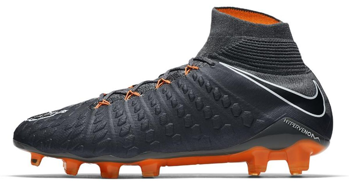 337ff2453259 Lyst - Nike Hypervenom Phantom Iii Elite Dynamic Fit Fg Firm-ground Soccer  Cleats in Gray for Men