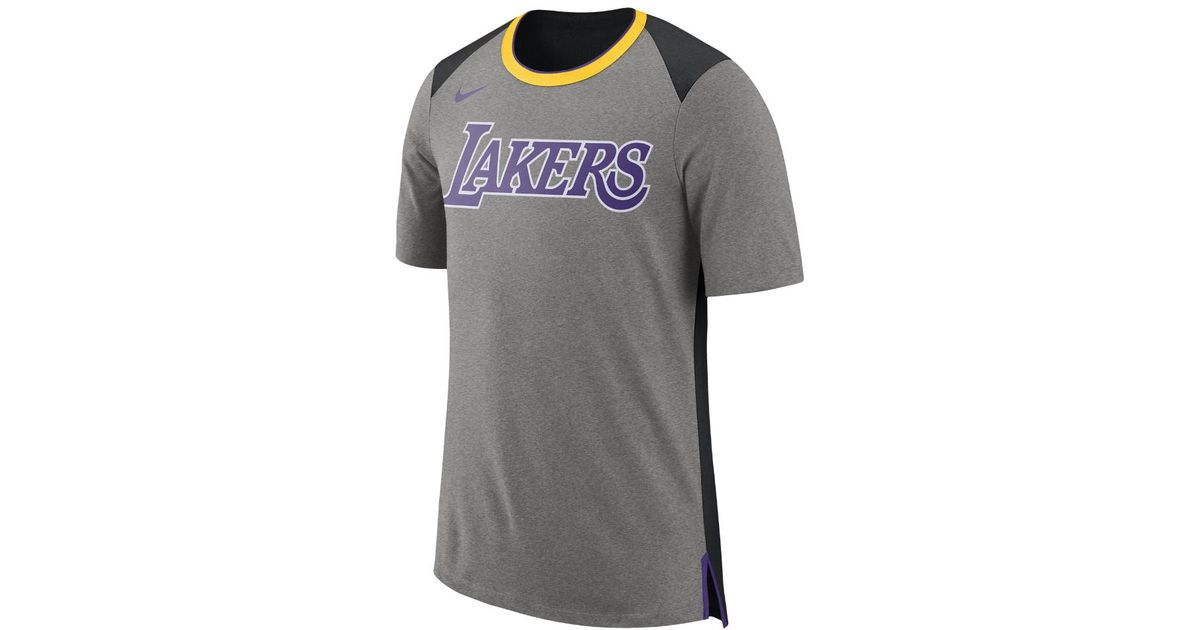 Nike Los Angeles Lakers Men's Short Sleeve Nba Top