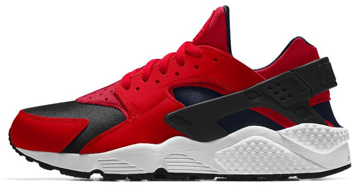 9df896034a7a Lyst - Nike Air Huarache Essential Id Men s Shoe in Red for Men