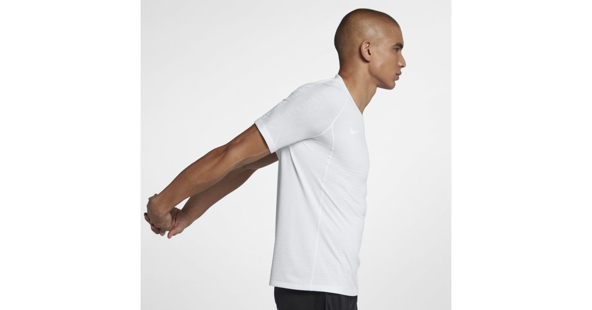 011db959 Nike Vaporknit Strike Short-sleeve Football Top in White for Men - Save 30%  - Lyst