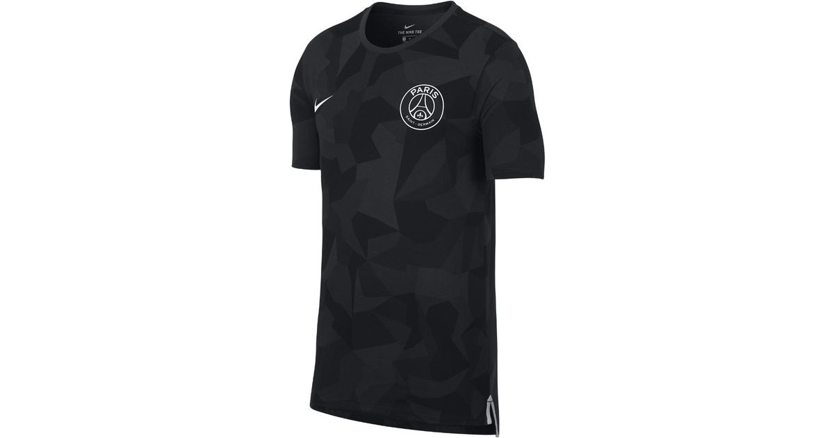 a189ebd6c Lyst - Nike Paris Saint-germain Dry Match Men s T-shirt in Black for Men