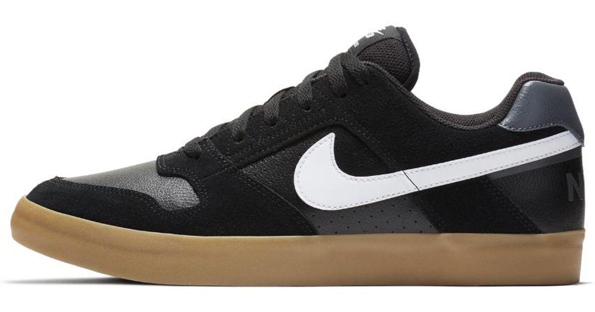 Lyst - Nike Sb Delta Force Vulc Men's Skateboarding Shoe in Brown for Men