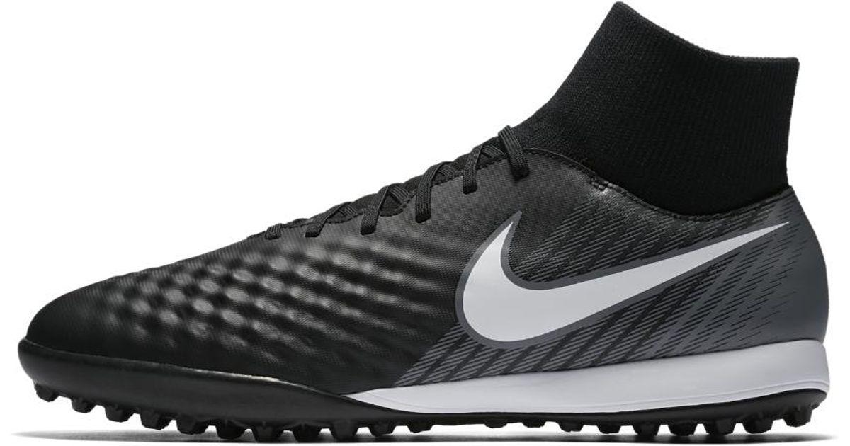 Lyst - Nike Magistax Onda Ii Dynamic Fit Artificial-turf Soccer Shoe in  Black for Men