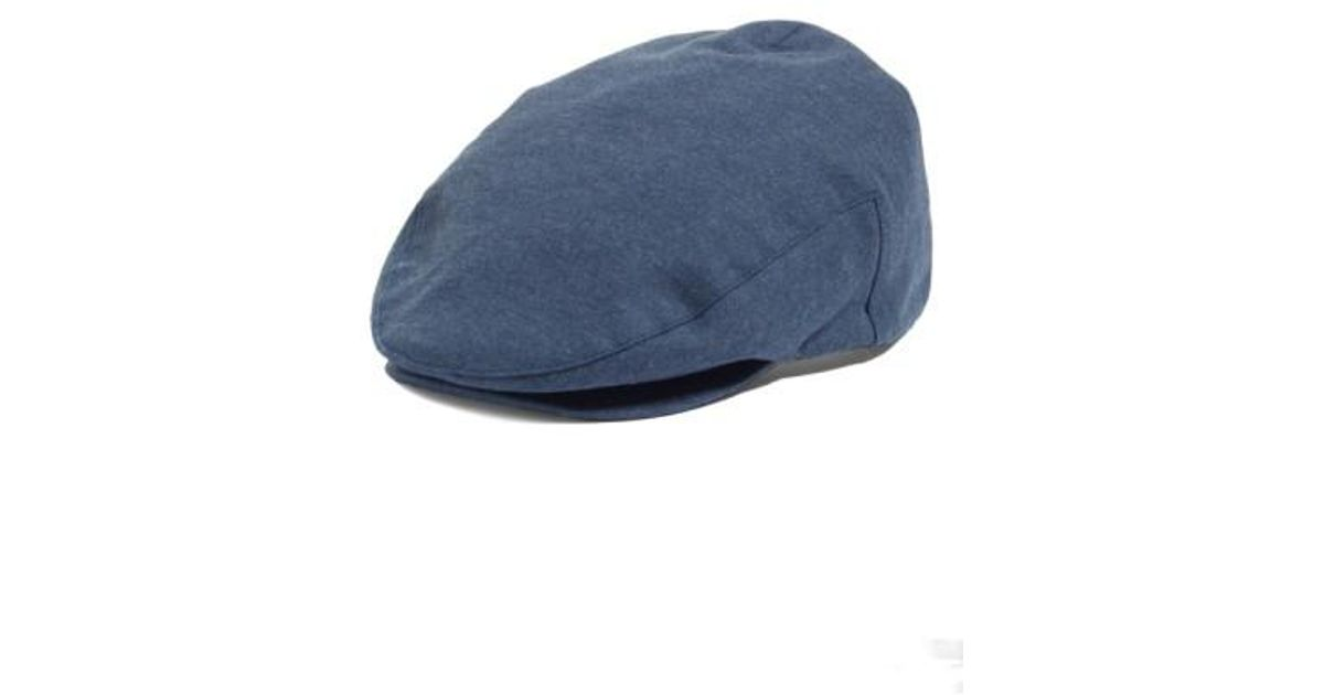 Lyst - Brixton Hooligan Driving Cap in Blue for Men 3d65b2f6a89