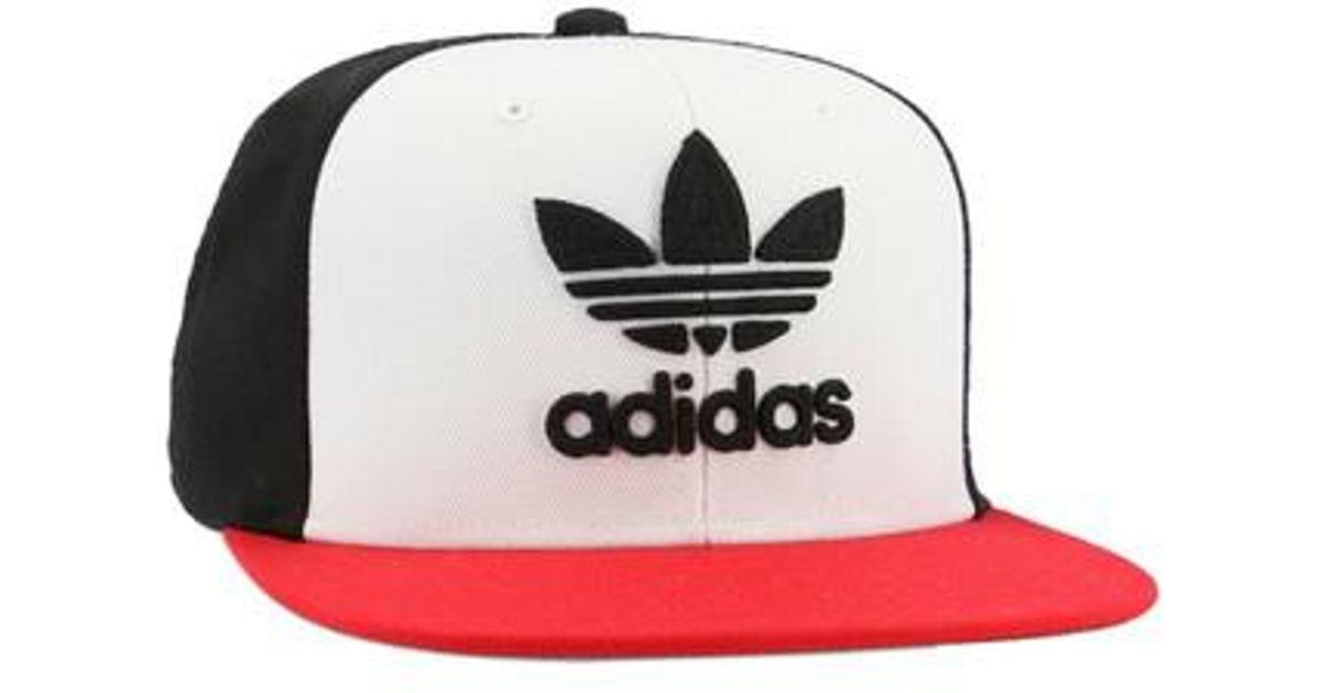 455bfcf67bd3e Lyst - Adidas Originals Trefoil Chain Snapback Baseball Cap for Men