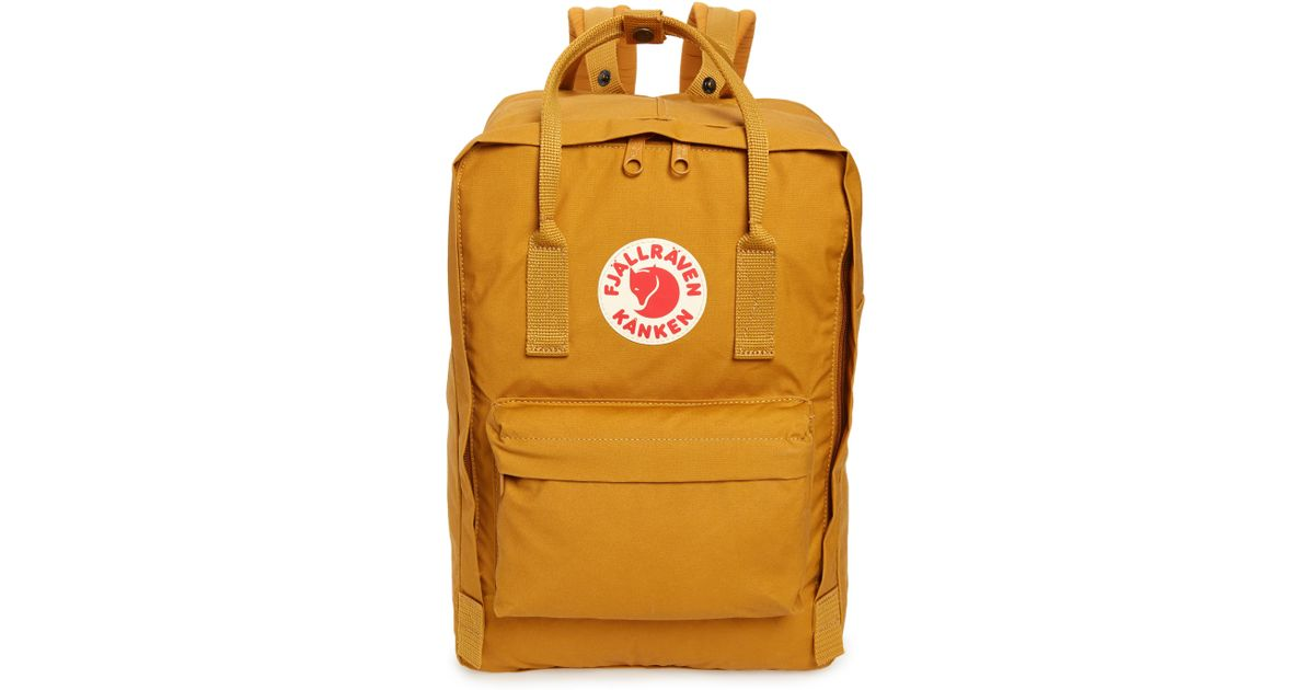 b1b1e58d4e Lyst - Fjallraven  kanken  Laptop Backpack in Yellow