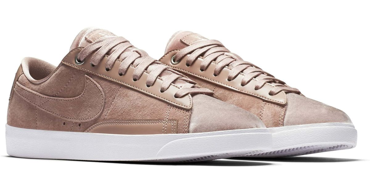 Lyst - Nike Blazer Low Lx Sneaker in White a50e457b5