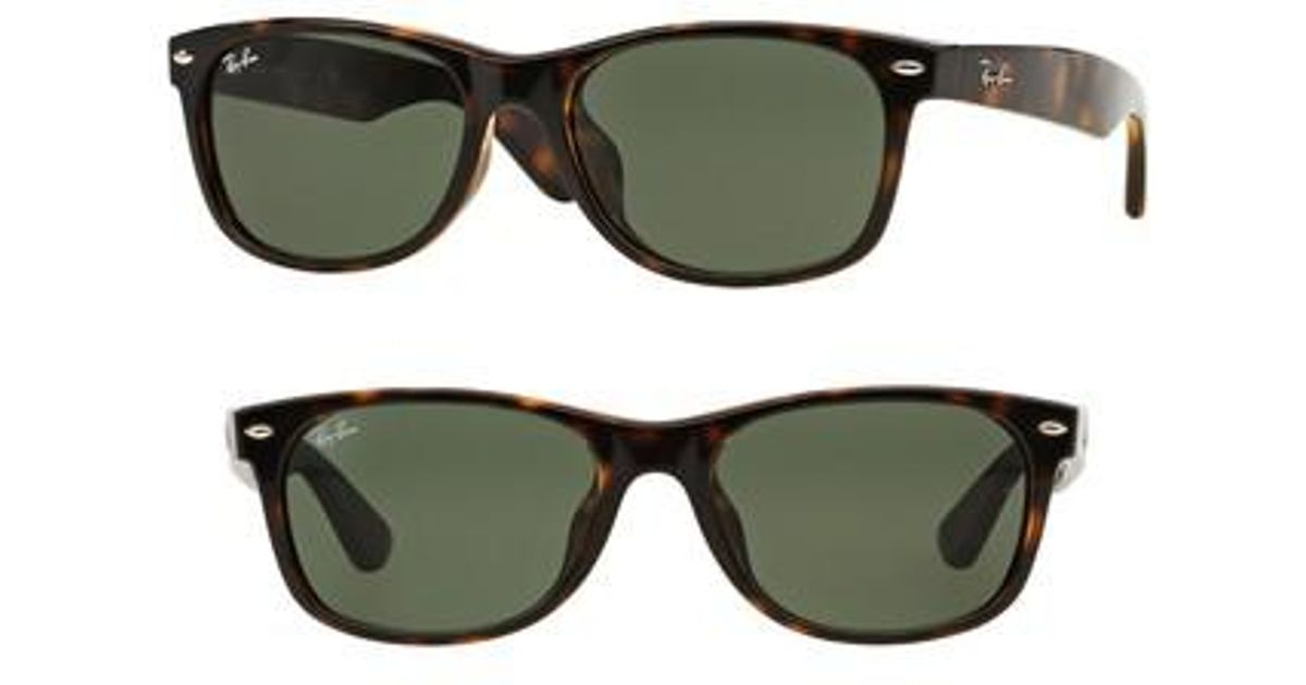 f45f410b200 Lyst - Ray-Ban New Wayfarer Classic 52mm Sunglasses in Green for Men
