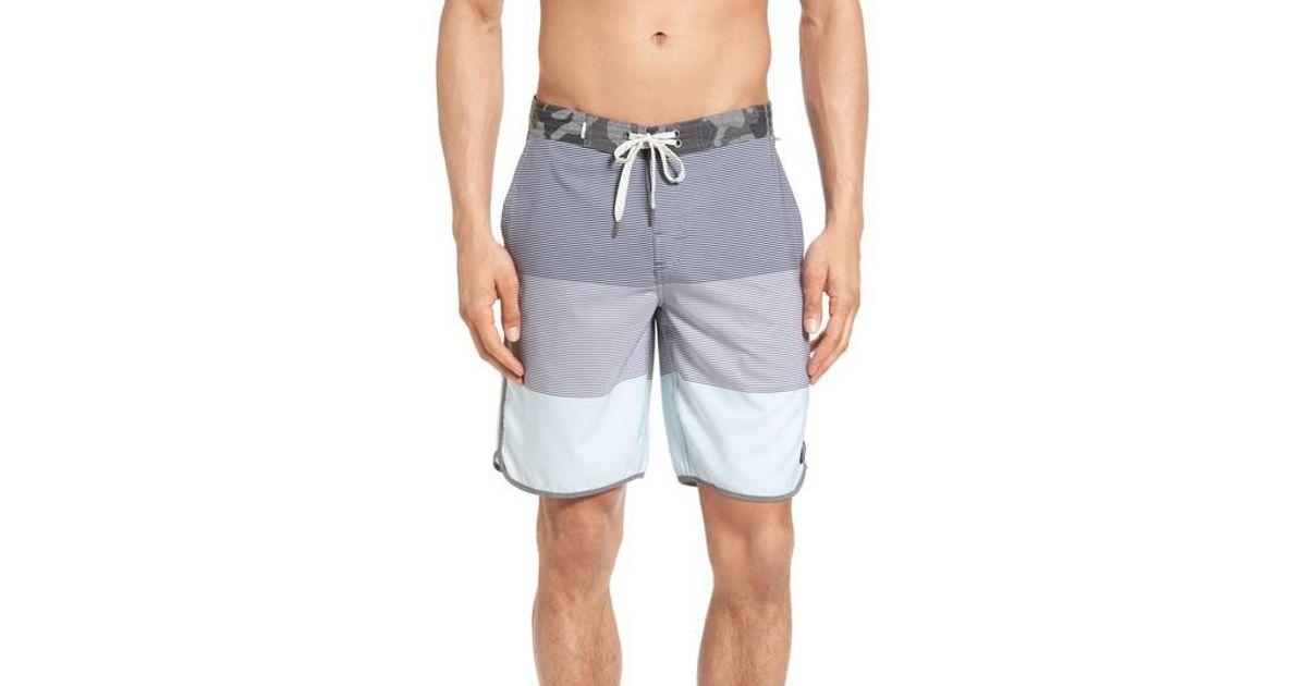 9f50538741 Vuori Cruise Hybrid Board Shorts in Blue for Men - Lyst