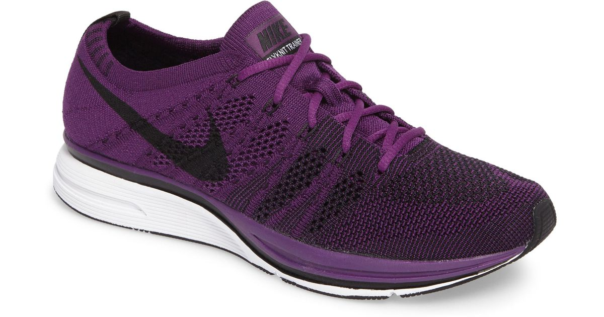 abe8797c149a Lyst - Nike Flyknit Trainer in Purple for Men - Save 30%
