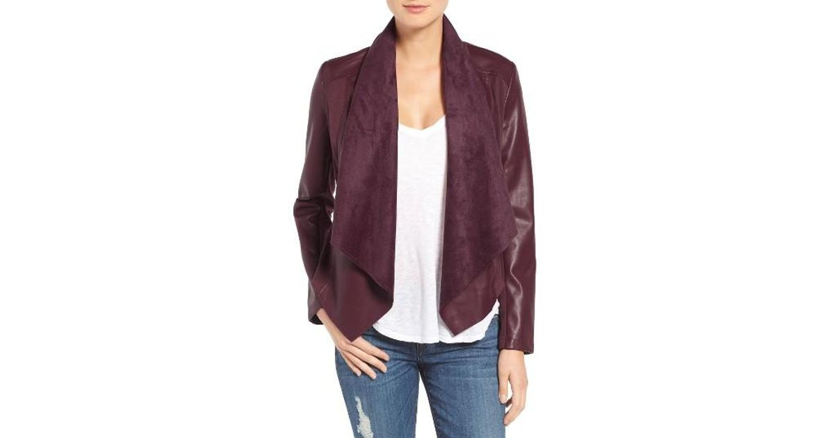 Lyst Kut From The Kloth Ana Faux Leather Drape Front