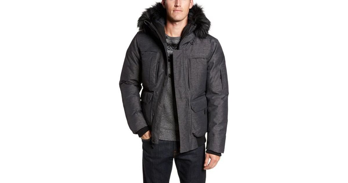 223c44d14d69 Lyst - The North Face Cryos Expedition Gore-tex Bomber Jacket in Gray for  Men