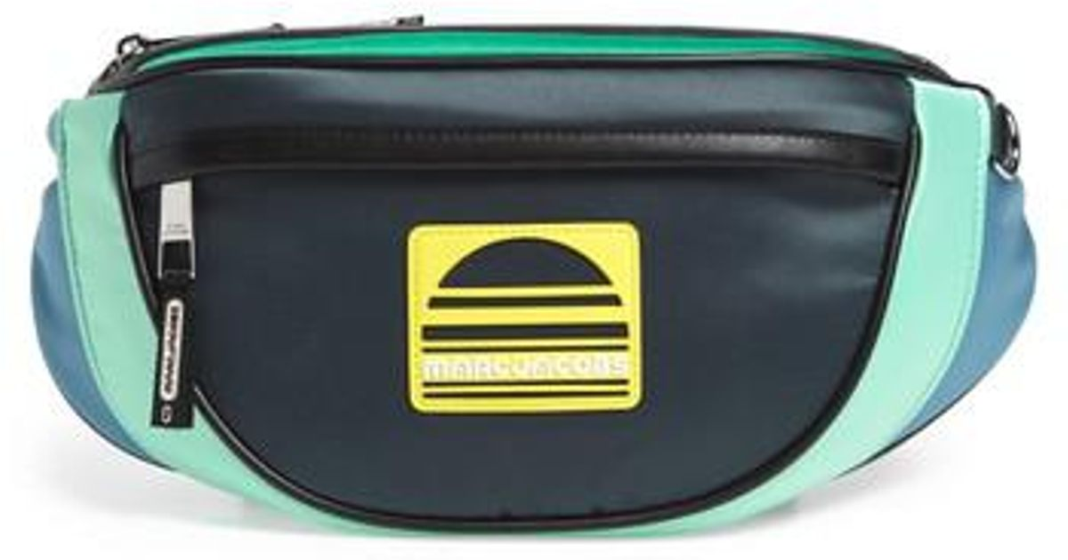 01247150f542f Lyst - Marc Jacobs Sport Colorblock Fanny Pack in Green for Men
