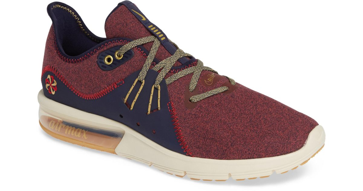 huge discount 3cc66 d9b06 Nike Air Max Sequent 3 Prm Vst Sneaker in Brown for Men - Lyst