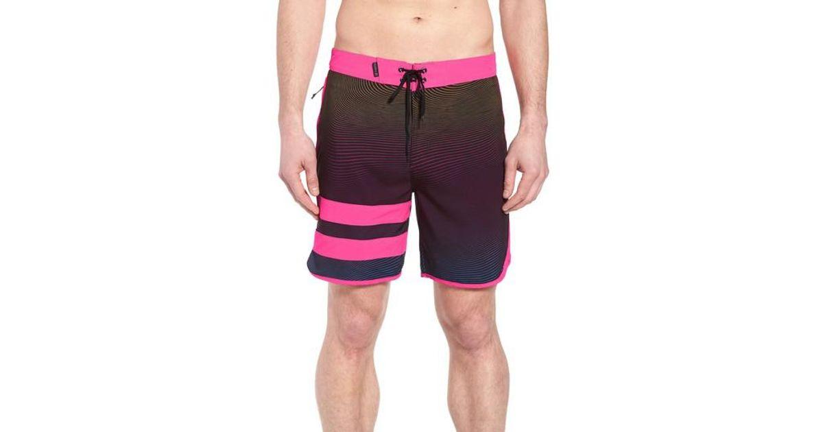 27f5dd50ee Lyst - Hurley Phantom Static Block Party Board Shorts for Men
