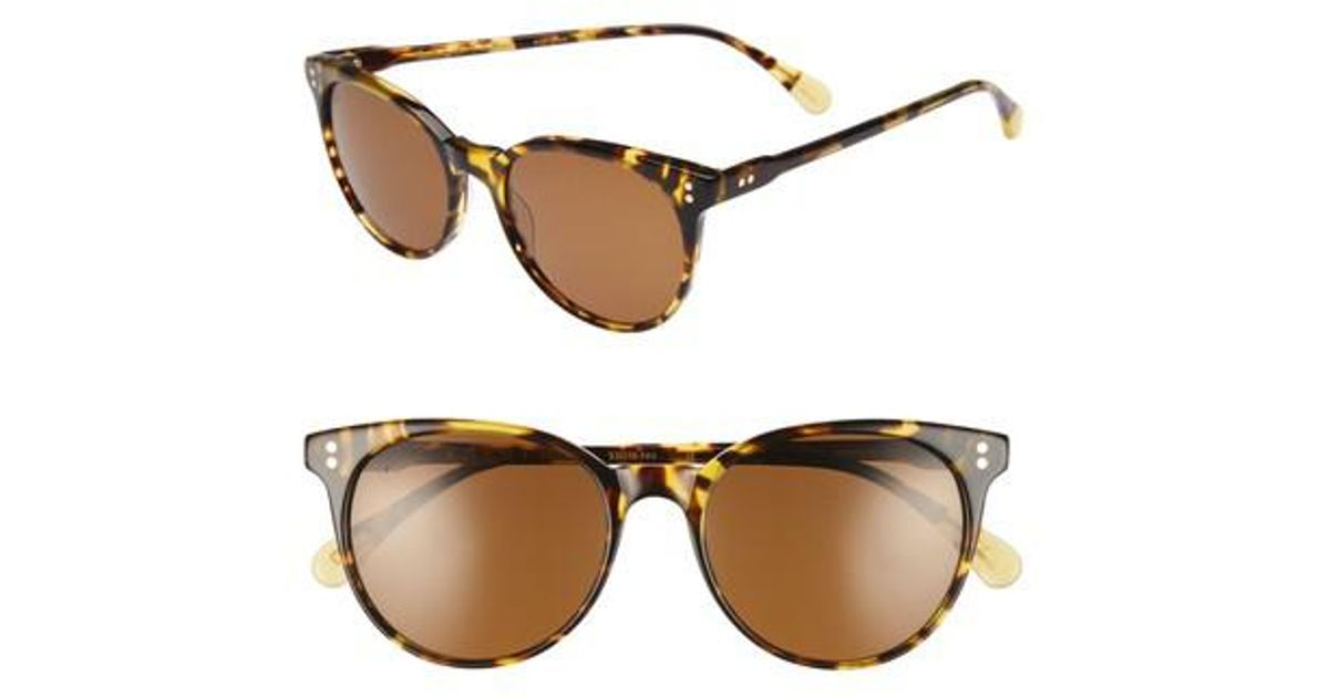 9e56e67cc5c Lyst - Raen Norie 53mm Sunglasses - Tokyo Tortoise  Brown in Brown for Men
