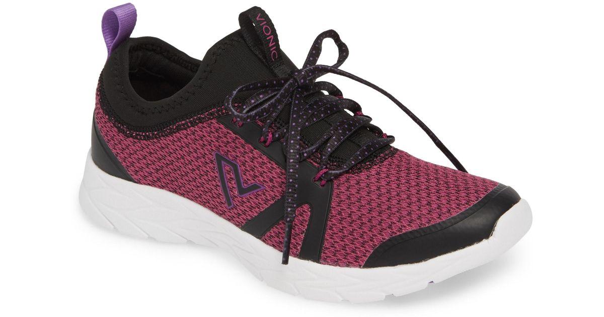 0c4248b0a67 Lyst - Vionic Alma Sock Sneaker in Black