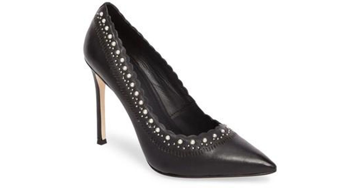Pour La Victoire Women's Cerella Embellished Pointed Toe Pumps M6fsDhNRH