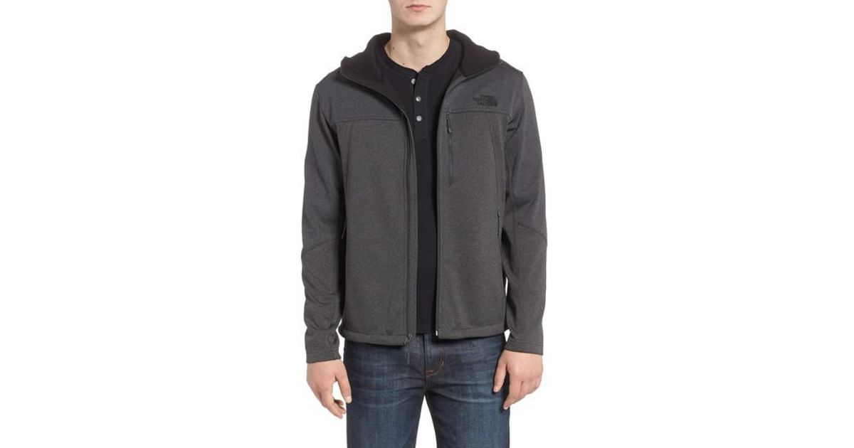 add1c4fd7f1b Lyst - The North Face Apex Canyonwall Hybrid Jacket in Gray for Men