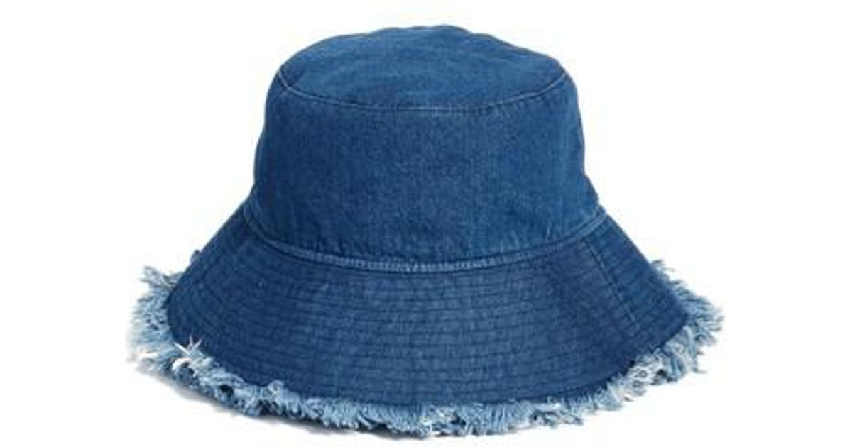 acec11d940 Lyst - Treasure   Bond Denim Bucket Hat - in Blue
