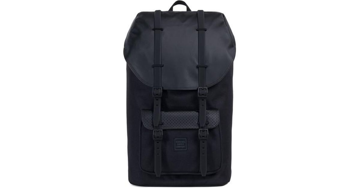 13d53573a24 Lyst - Herschel Supply Co. Little America Polycoat Studio Backpack in Black  for Men