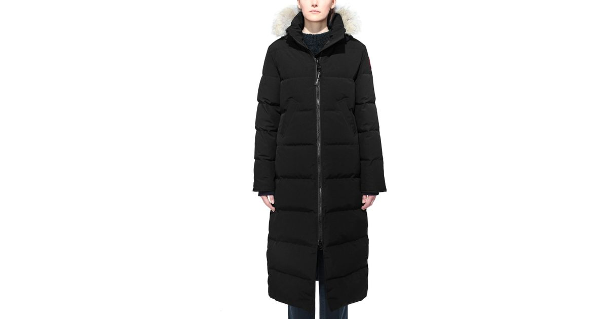Lyst - Canada Goose Mystique Fusion Fit Down Parka With Genuine Coyote Fur  in Black 72c2ab90c9