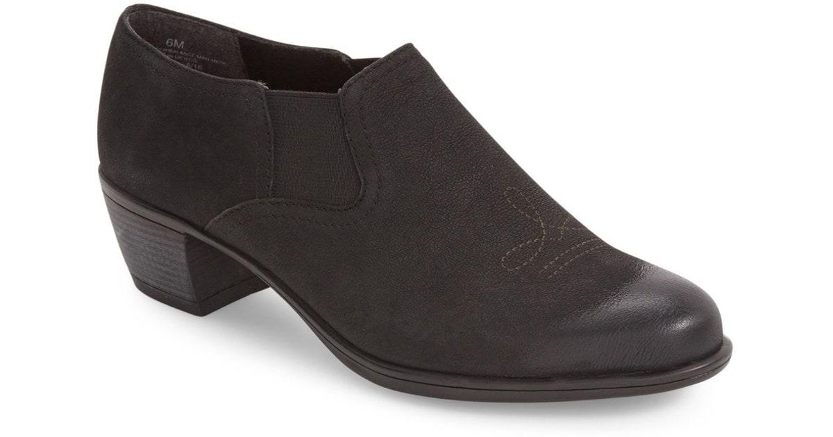 fd170c0e55a Lyst - Munro Silverton Water Resistant Ankle Bootie