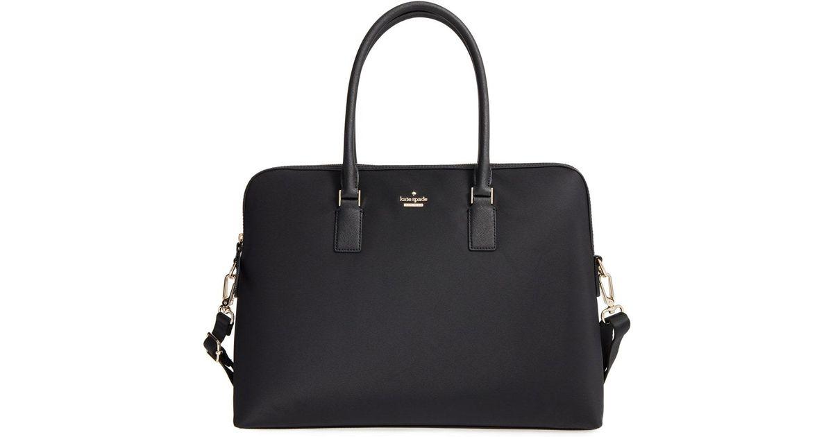 online store 68c2d 269df Kate Spade Black Daveney 15 Inch Laptop Bag -
