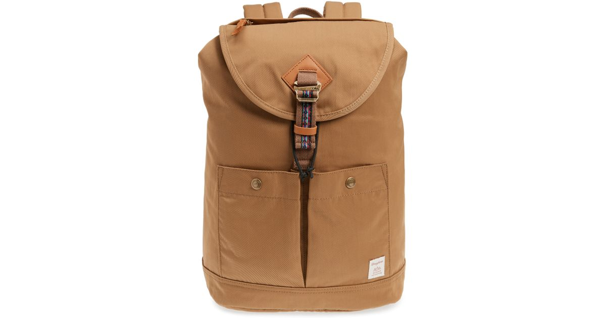 Lyst - Doughnut Montana Bo-he Water Repellent Backpack in Natural 03d4534c6ad06