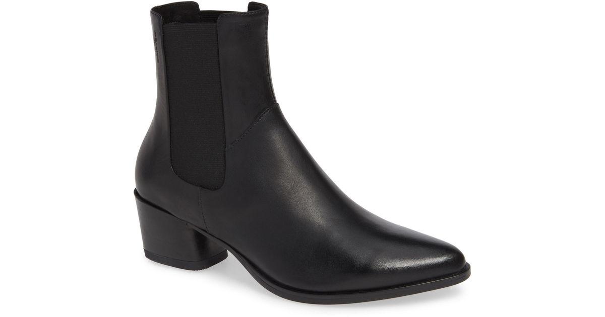 080b7a2bf272f1 Lyst - Vagabond Shoemakers Lara Bootie in Black