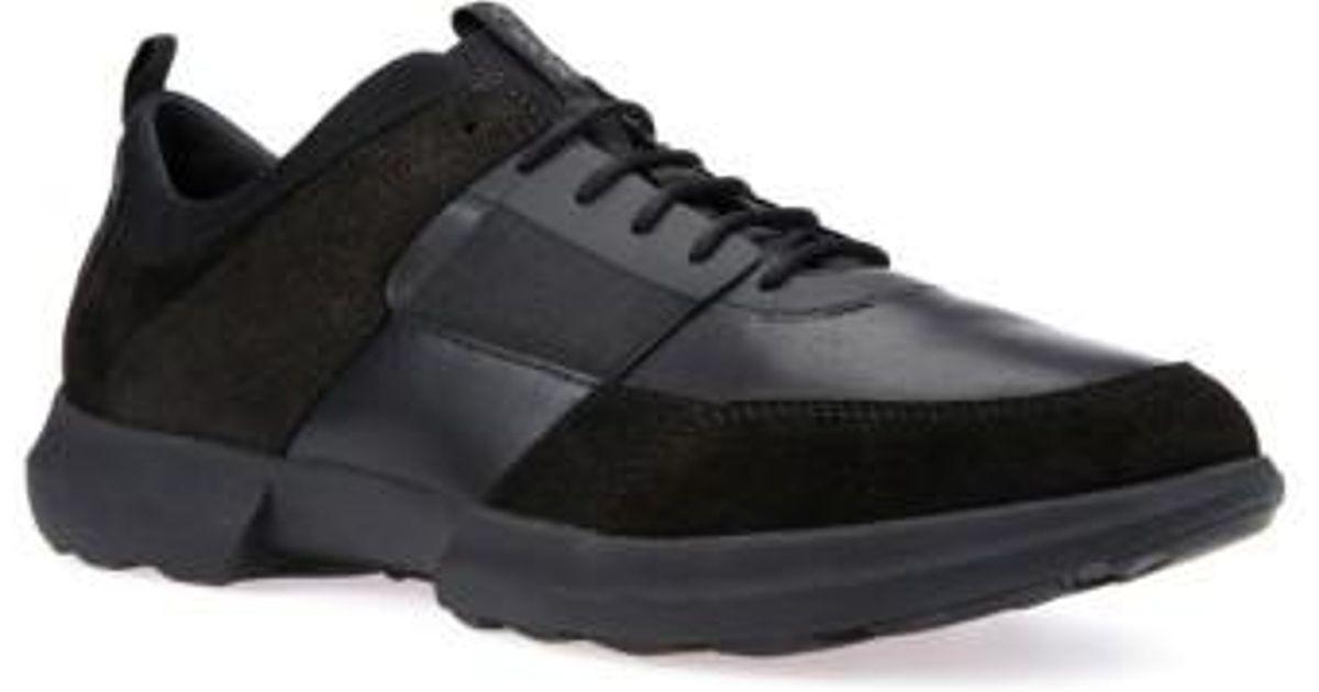 Traccia sneakers - Black Geox N8ESf