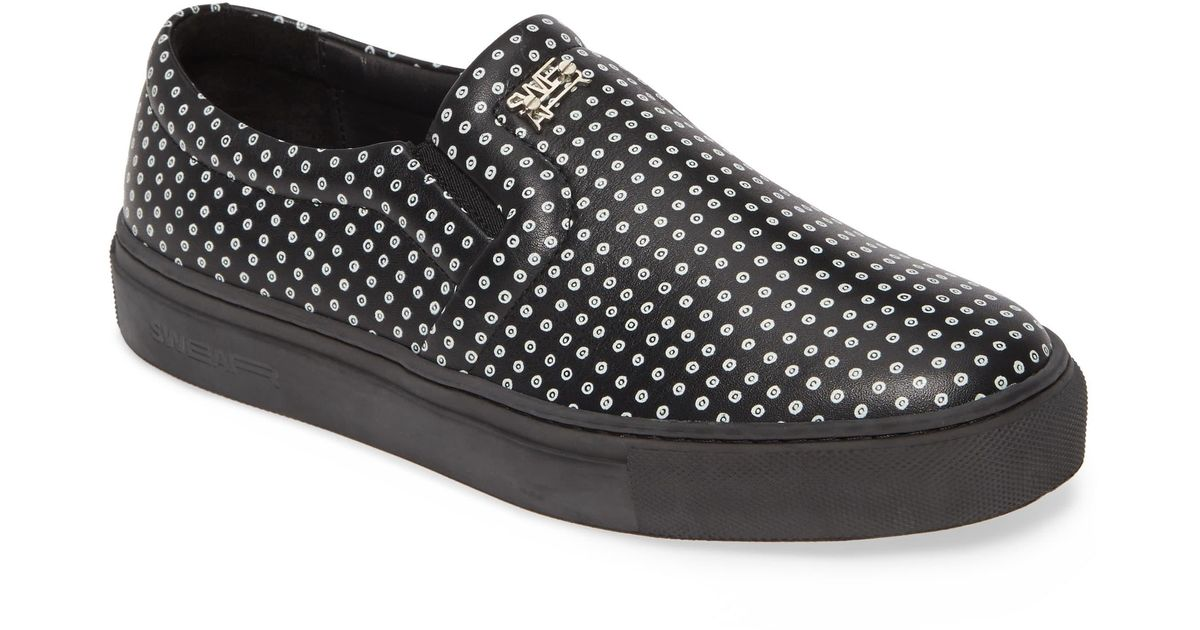 Maddox Lyst Slip Swear Sneaker On Black 4RLqSjc3A5