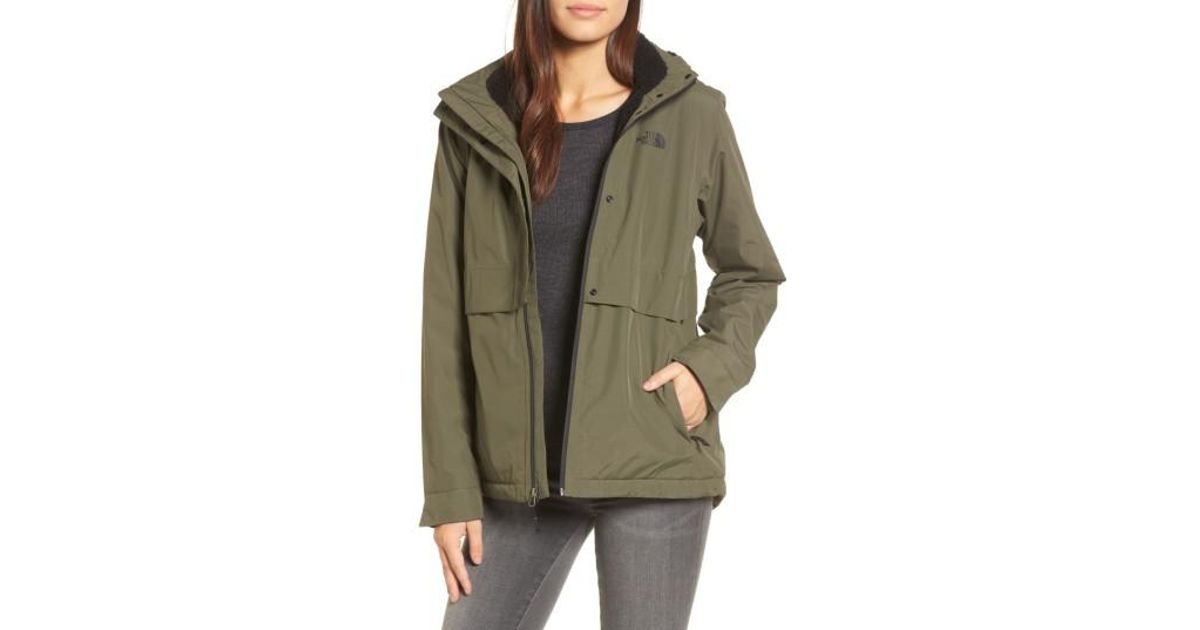 62181316934c ... clearance lyst the north face morialta jacket in green 75927 d997b ...