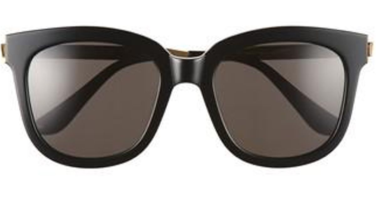 920a54b548c9 Lyst - Gentle Monster Absente 54mm Sunglasses in Black