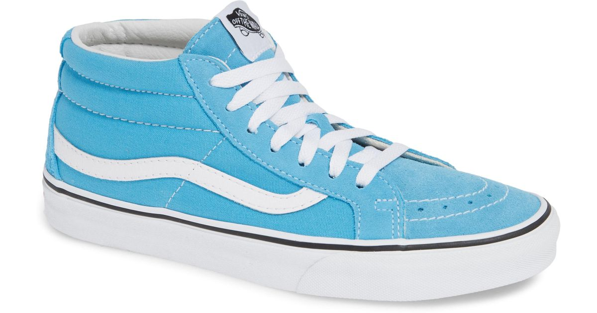 889a242b208cbf Lyst - Vans Sk8-mid Reissue Sneaker in Blue for Men