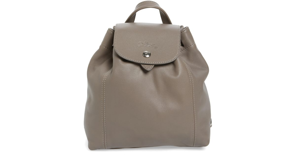 6e2f79abd6b1 Lyst - Longchamp Extra Small Le Pliage Cuir Backpack