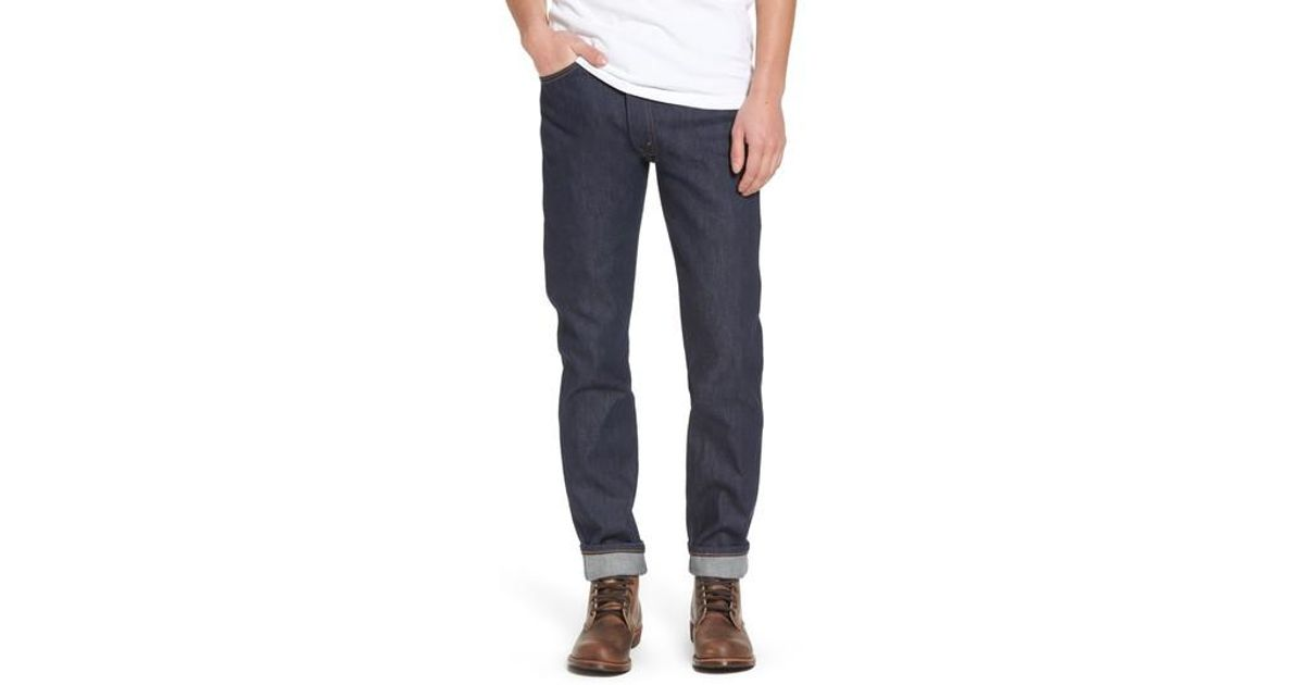 551a46a3043 Levi's Levi's Vintage Clothing 1969 606(tm) Slim Fit Jeans in Blue for Men  - Lyst