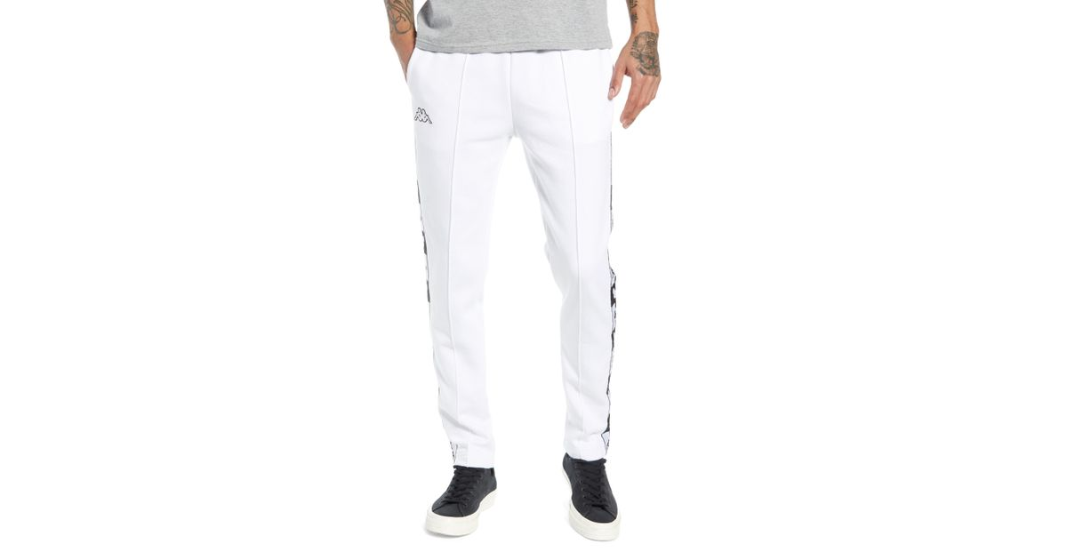 a2df349c Lyst - Kappa X Disney Authentic Alphonso Slim Fit Track Pants in White for  Men