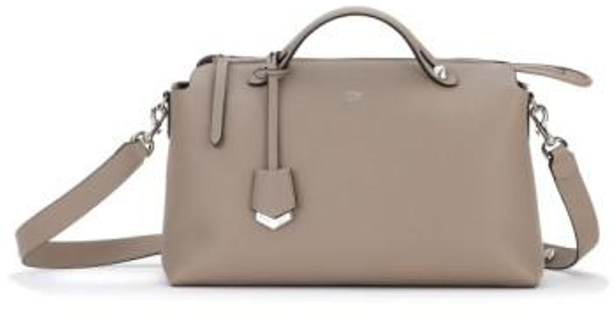 Lyst - Fendi Large By The Way Leather Shoulder Bag in Brown 6a9b81efd824b