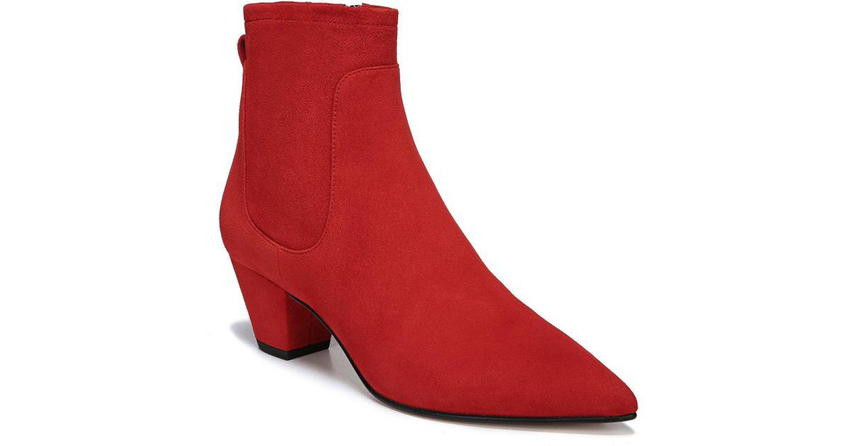 335573d755af4b Lyst - Sam Edelman Karlee Bootie in Red